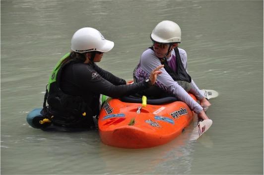Kayak Skills with Laura