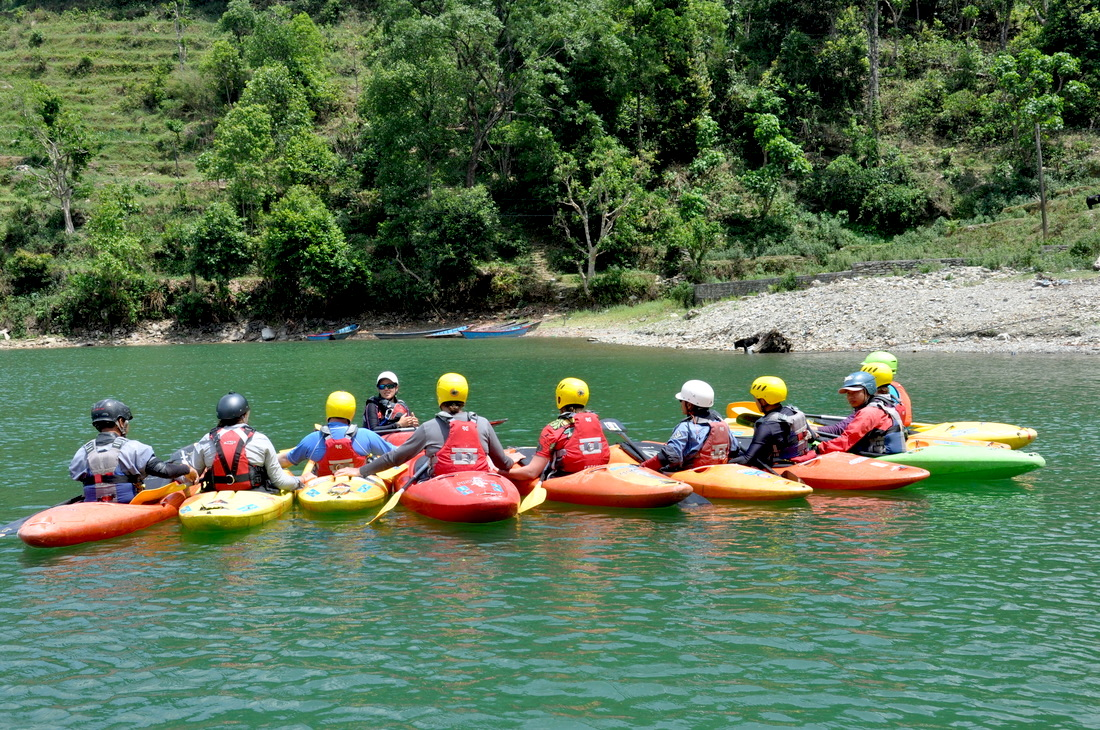 Kayak Nepal - Beginner to Intermediate